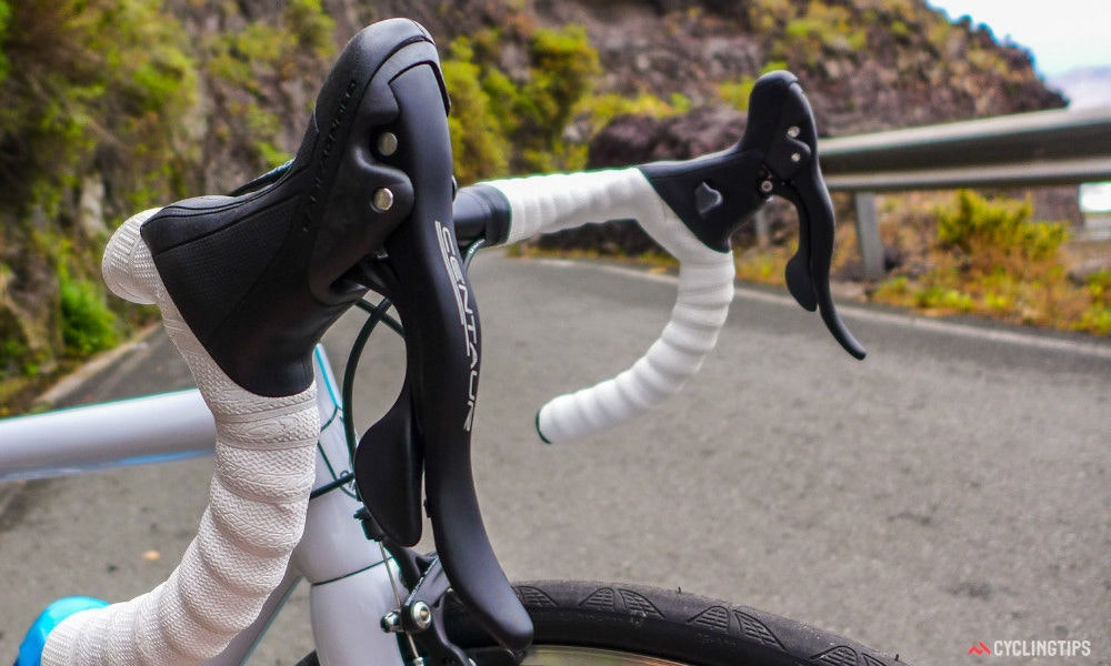 fullpage campagnolo centaur groupset ten things to know ergopower shift levers