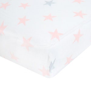aden doll classic muslin fitted cot sheet single