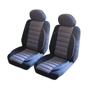 Universal Comfort Plus Front Seat Covers Size 30/35 | Grey