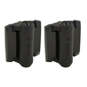 D&D Technologies Self Closing Polymer Gate Hinge Pair - TCA1S3BT For Metal Gates Up To 30kg