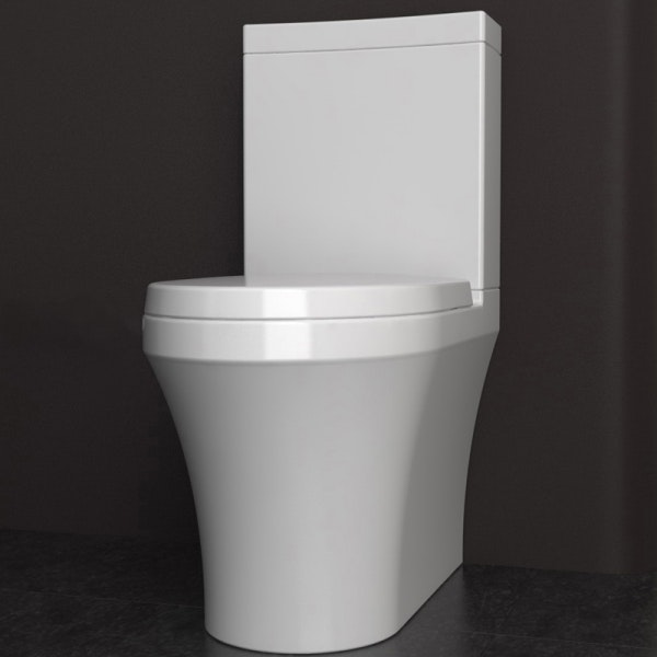 Studio bagno q wall faced toilet toilets for sale in for Studio bagno q toilet suite