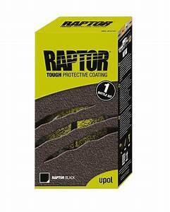 Upol Raptor Liner 1 Litre Kit - Black RLB/S1