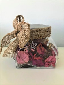 Bambole Designs Decorative Flowers in a Jar, Rustic, Boho Australian made, Home décor, Roses, perfect for Mother's Day 2021