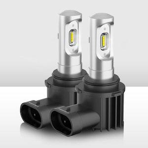 Pair HB4 9006 LED Headlight Conversion Kit Globe Bulb Replace Xenon Halogen