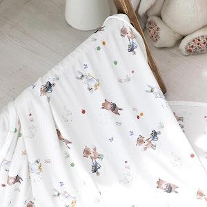 Bebenuvo Hygiene Ice Blanket/Swaddle Wrap - Gardening