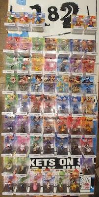 Sealed Amiibo Collection