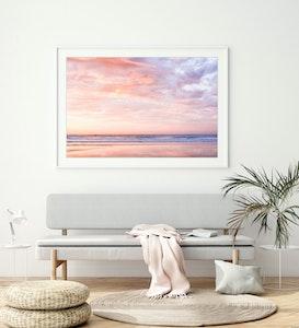 """First Blush"" Sunrise Photography Print"