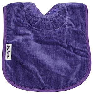 Silly Billyz Large Purple Towel Bib