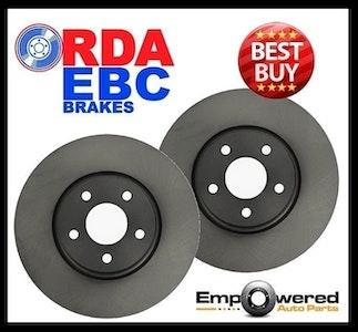 RDA FRONT DISC BRAKE ROTORS for Volkswagen Bora 1.8T 1.9TD 2.3L *312mm 2001-2005