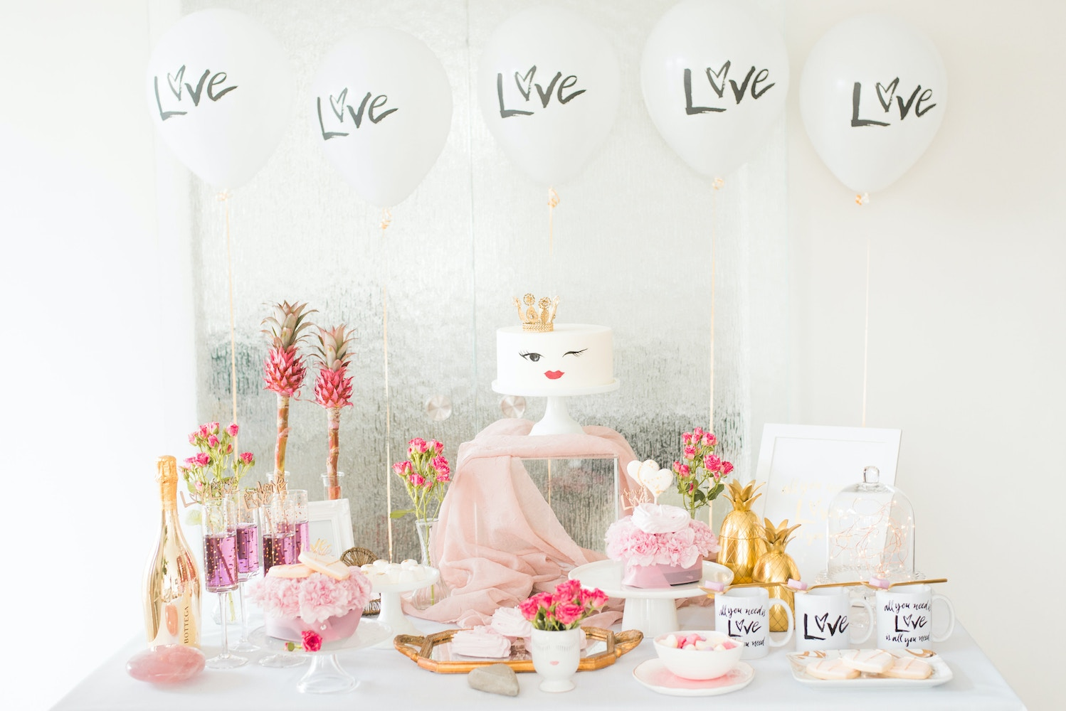 PINK VALENTINE'S DAY PARTY