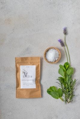 bVitra Foot Soak - Magnesium Chloride flakes, MSM (Organic Sulphur), Lavender and Peppermint Essential Oils