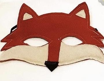 Wool Felt Fox Masks