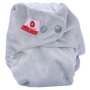 All In One Nappy: Silver