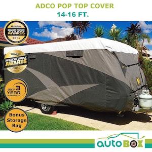 Poptop Caravan Cover 4.3 - 4.9M 14 - 16 feet suit Jayco Expanda Starcraft Camper