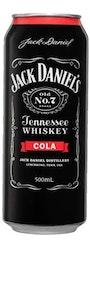 Jack Daniel's & Cola Can 500mL