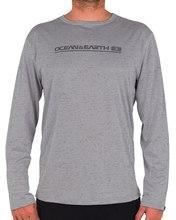 Mens Paddle LS Shirt - Grey Mens Paddle LS Shirt - Grey