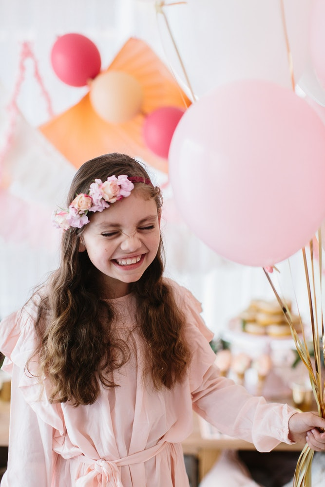 LENZO Boho Birthday Kids Party Kas Richards