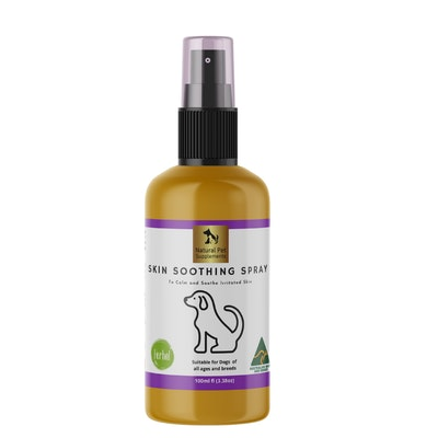 Natural Pet Supplements Skin Soothing Spray for Dogs 100ml