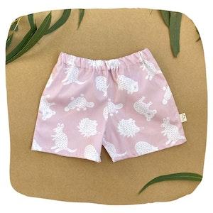 Pink Little Aussie Shorts