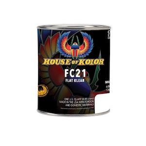 House of Kolor HOK Urethane Flat Klear 946ml/Qt (FC21Q)