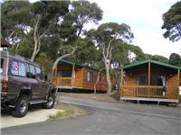 New cabins go in at Anglesea Beachfront Family Caravan Park