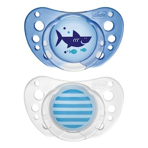 Chicco Latex Physio Air Soother 16-36m 2pk-Boy