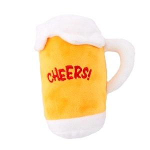 DoggyTopia Beer Mug Squeaker Dog Toy