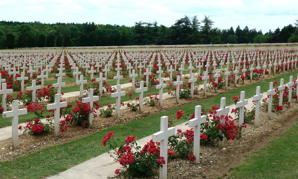 At Verdun GSA's International Claire meets The Man She Never Knew