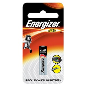 Energizer Batteries Replacement Remote Control Battery 12v Mini Alkaline Battery A27
