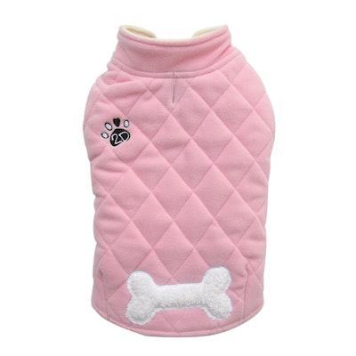 DoggyDolly SMALL DOG - Double Fleece Doggy Snug Pink