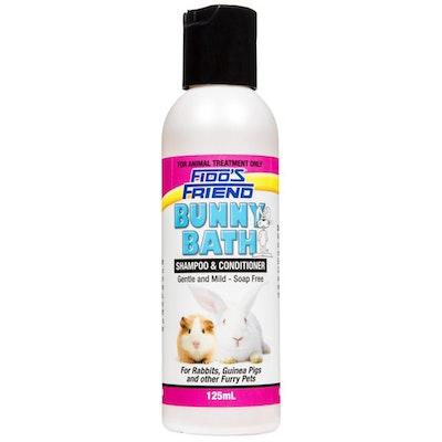 Fidos Friend Bunny Bath Soap Free Shampoo & Conditioner for Rabbits - 2 Sizes