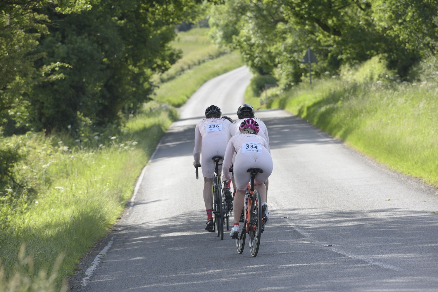 Cycling Starkers at the Tour of Cambridgeshire