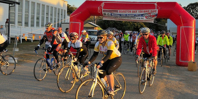 Moreton Bay 100 Cycling Event