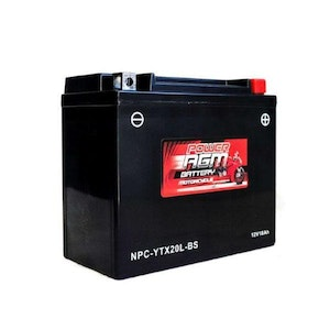 Power AGM 12V 18AH 320CCAs Motorcycle Battery