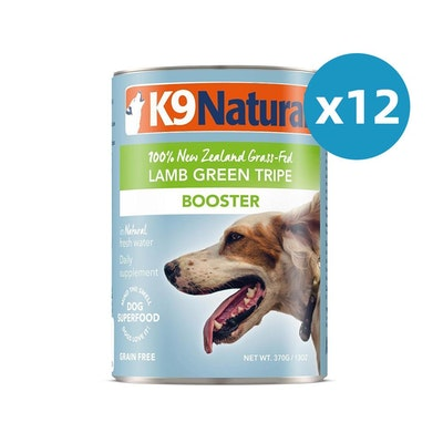 K9 Natural Canned Lamb Green Tripe Feast 370G(BOOSTER) X 12