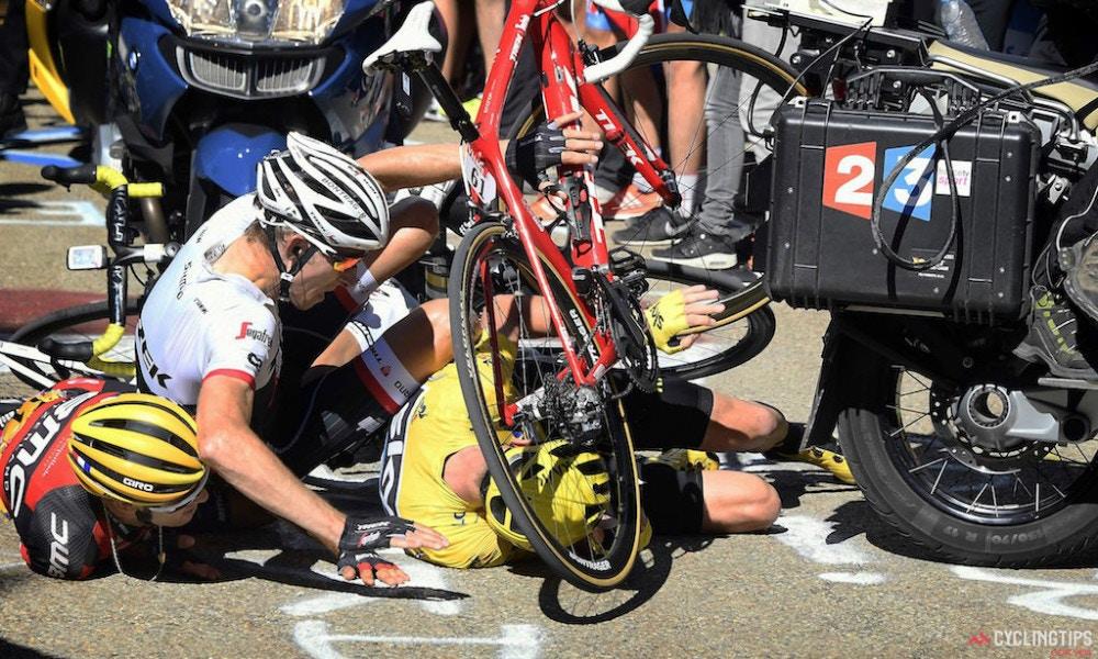 The Tour de France Plummets Into Chaos