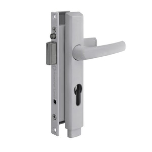 Austral Lock Elegance PUSH2GO Hinged Security Door Deadlock - White