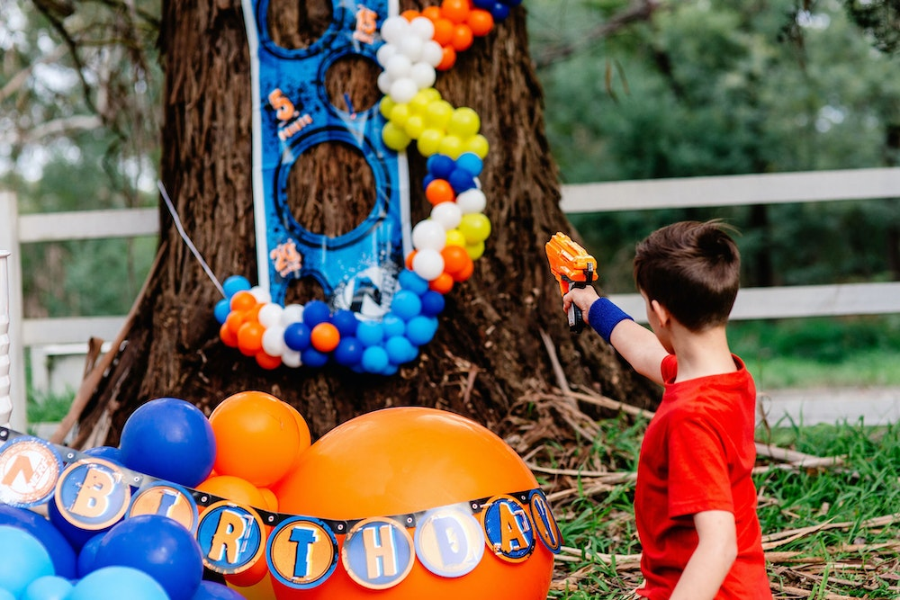 How to make a DIY NERF target game