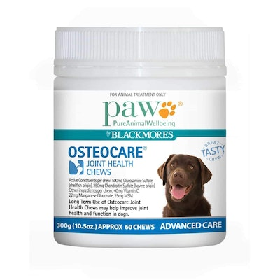 Paw Osteocare Joint Health Chews  300gm
