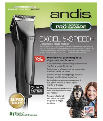 Andis Clipper Excel 5 Speed Black