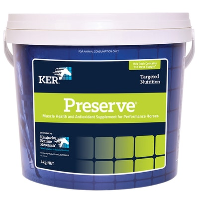 KENTUCKY EQUINE RESEARCH Ker Equivit Preserve Horse Muscle & Joint Supplement - 2 Sizes