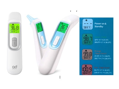 Infrared multi-function thermometer