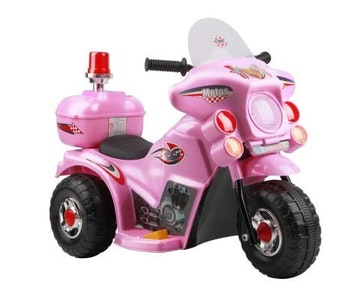 Kids Ride on Motorbike – Pink or Black