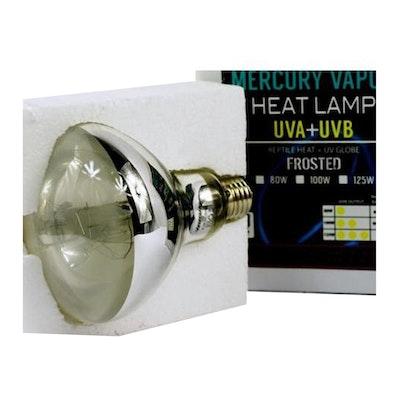 VG Mercury Vapour Uva Uvb Reptile Heat Lamp E27 - 3 Sizes