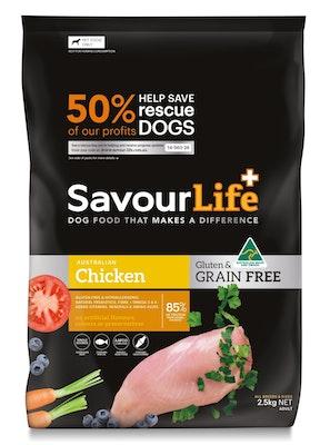 Savourlife Grain Free Adult Chicken 2.5kg