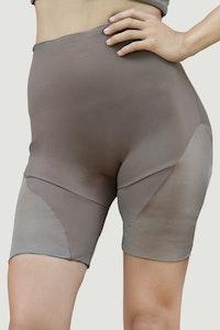 1 People Portland Biker Shorts in Jasper Brown