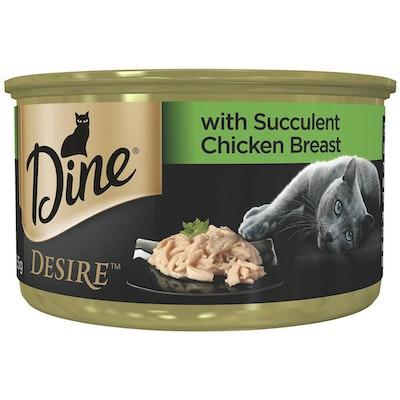 Dine Desire Suculent Chicken Breast Cat Food 85g x 6