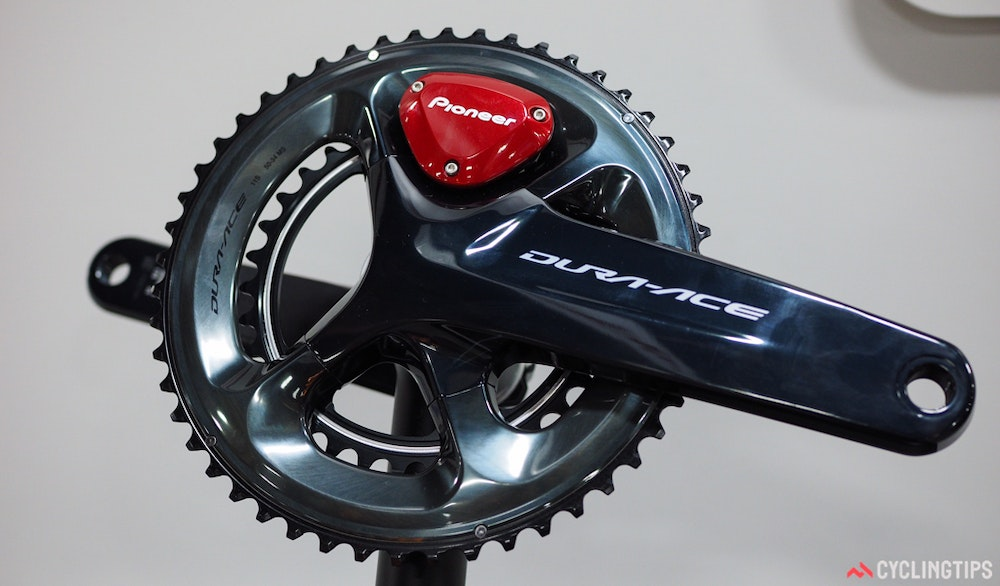 Pioneer Dura ace 9100 power meter InterBike 2016 CyclingTips 43088