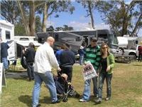Families, couples young and old at Bendigo Leisurefest