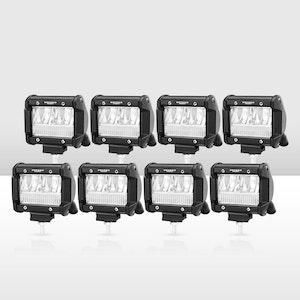 8x 4inch CREE LED Work Lights